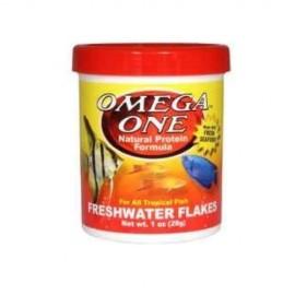 Freshwater flakes 148g Omega one