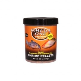 Shrimp pellets 126g Omega one