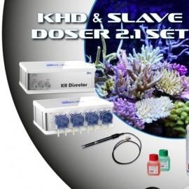 KHD & Slave Doser 2.1 Set PL-1523 GHL  - White