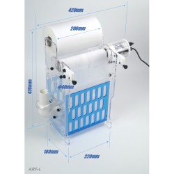 Bubble Magus Roller Filter Large
